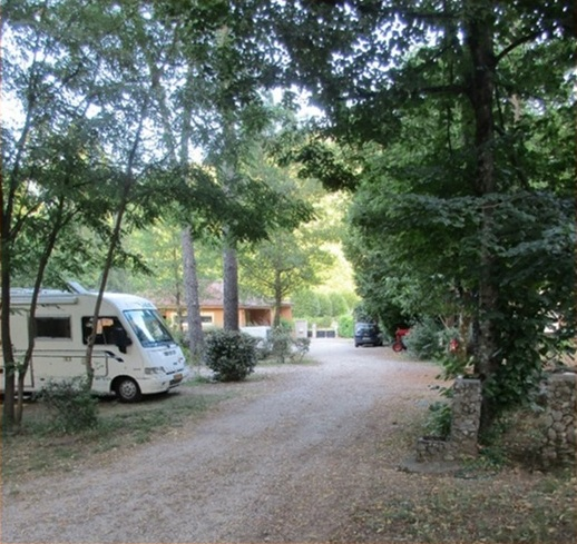 Part of the campsite